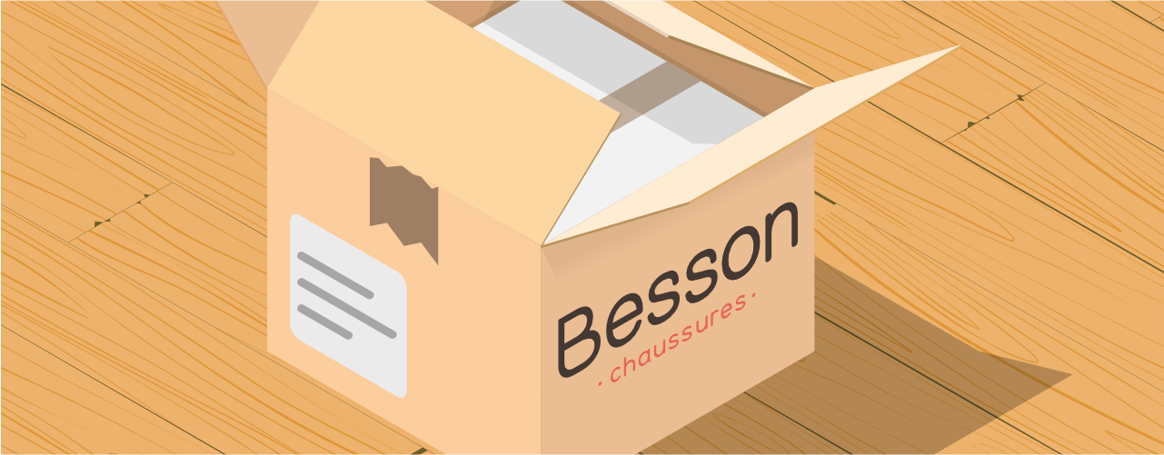 e-commerce Besson-Chaussures