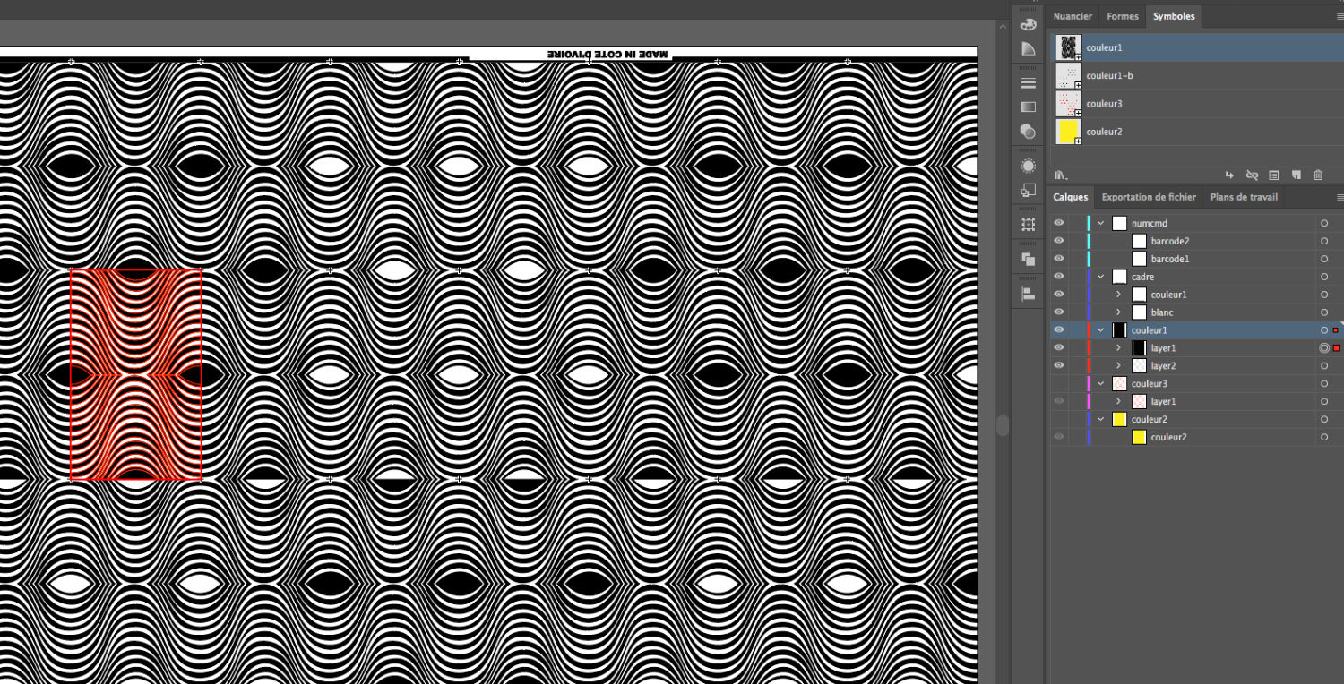 Patterns dans Illustrator