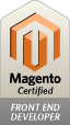 Magento certified Frontend Developper